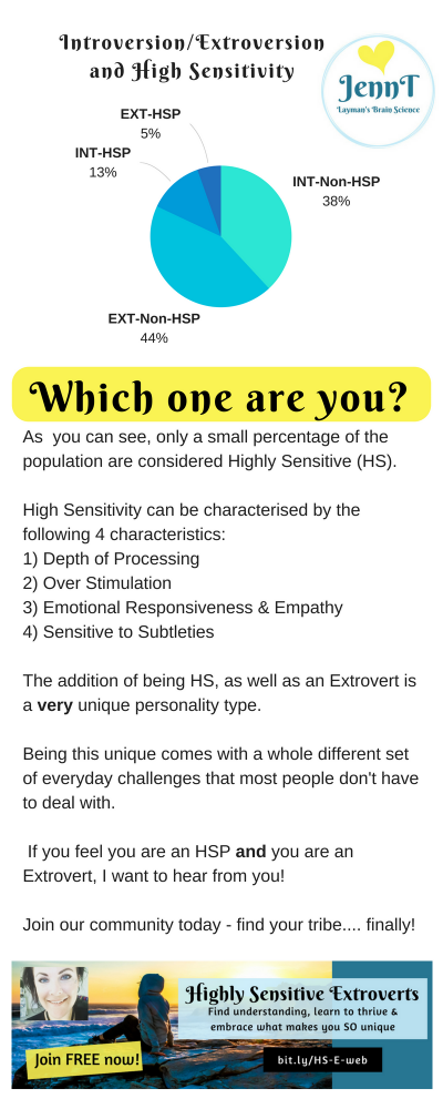 introvert extrovert high sensitivity, HSP